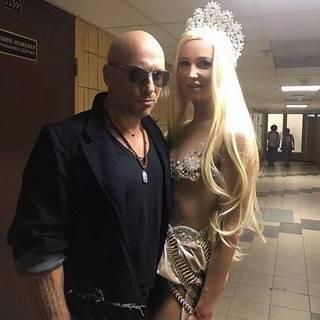Ольга Бузова и Дмитрий Нагиев на Премии МУЗТВ в 2017 году