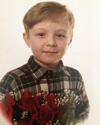Егор Крид в детстве