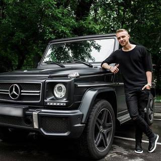 Машина Егора Крида Mercedes-Benz G63 AMG