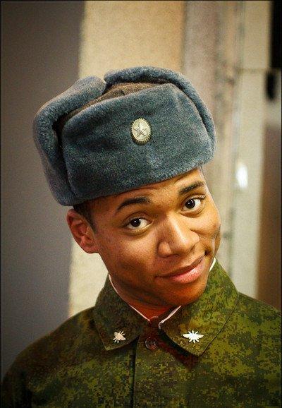 Жак-Энтони в армии.
