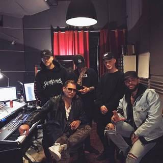 Егор Крид на студии BlackStar записывает новый альбом