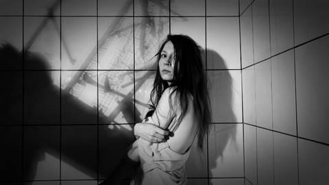 Вокалистка Катя Павлова, группа Обе Две