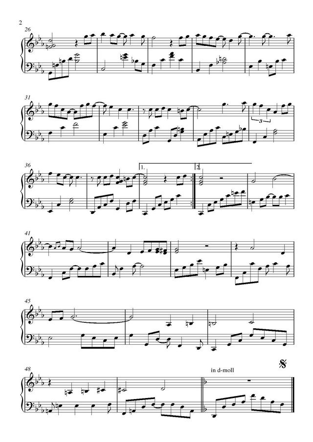 Ноты песни ваенга шопен